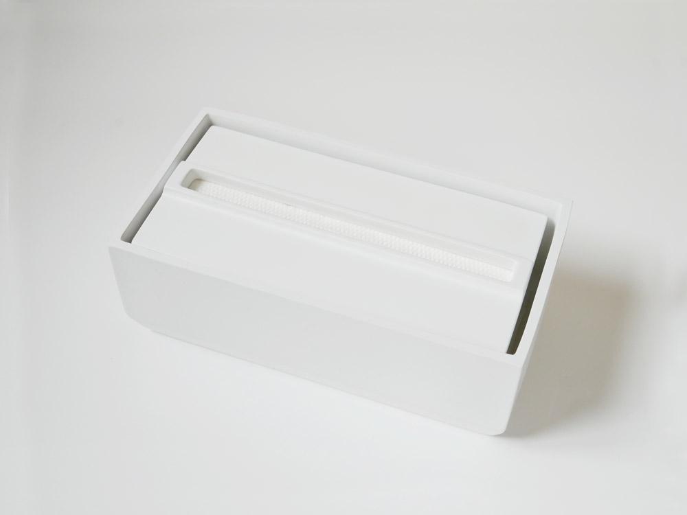 【Torel】ペーパータオルボックス 140 ホワイト