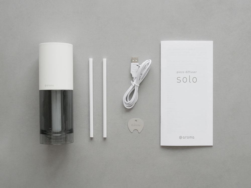 【@aroma】piezo diffuser ソロ ホワイト