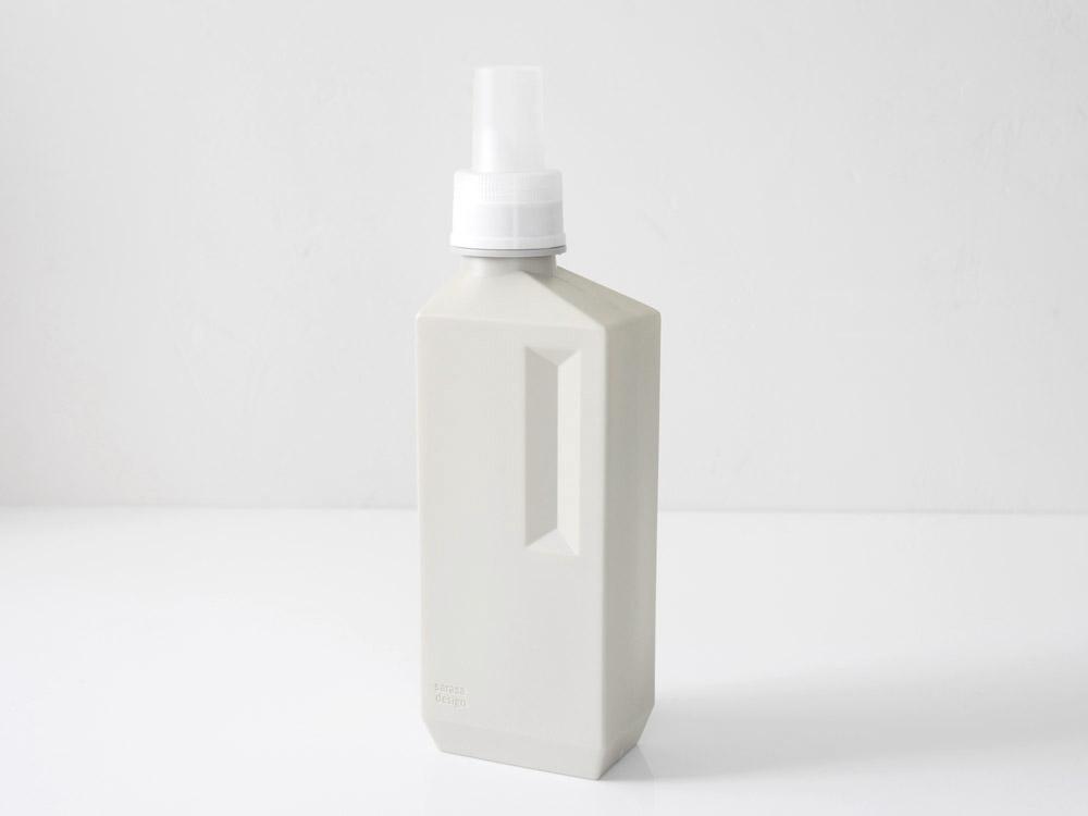【b2c】 ランドリーボトル L 1000ml /ウォームグレー