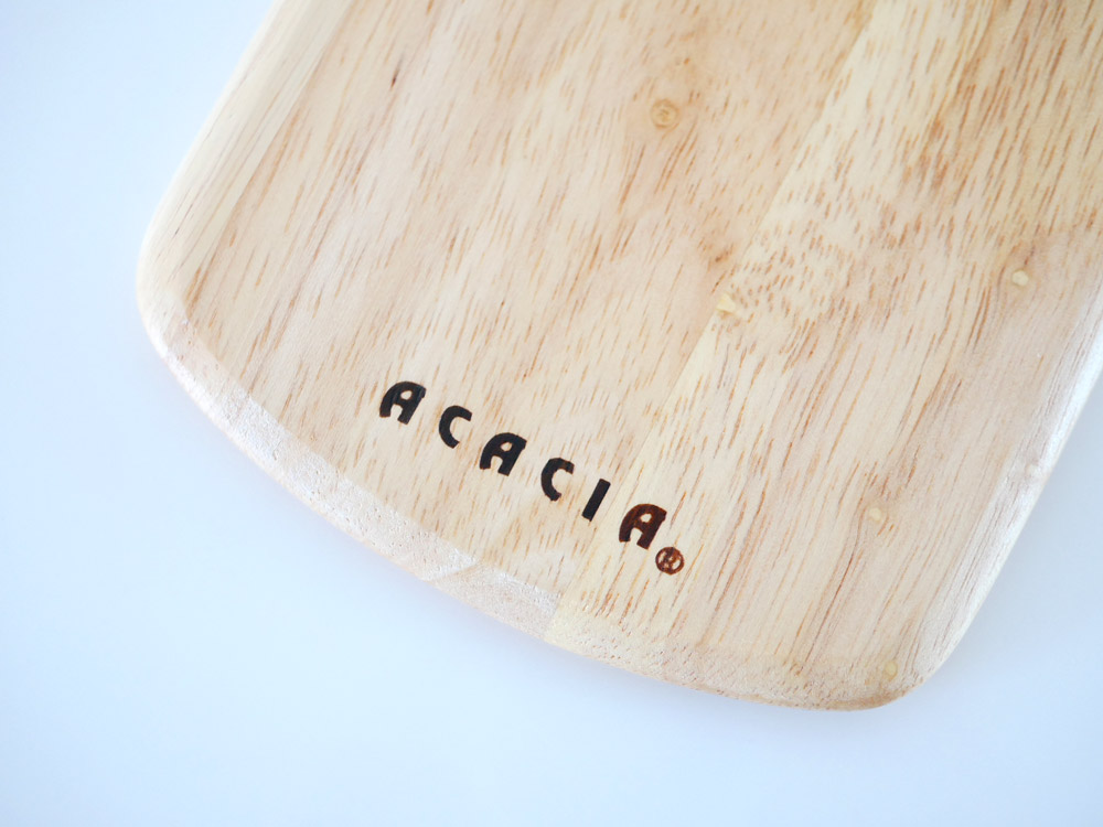 【ACACIA】ラウンディッシュボード SS ナチュラル