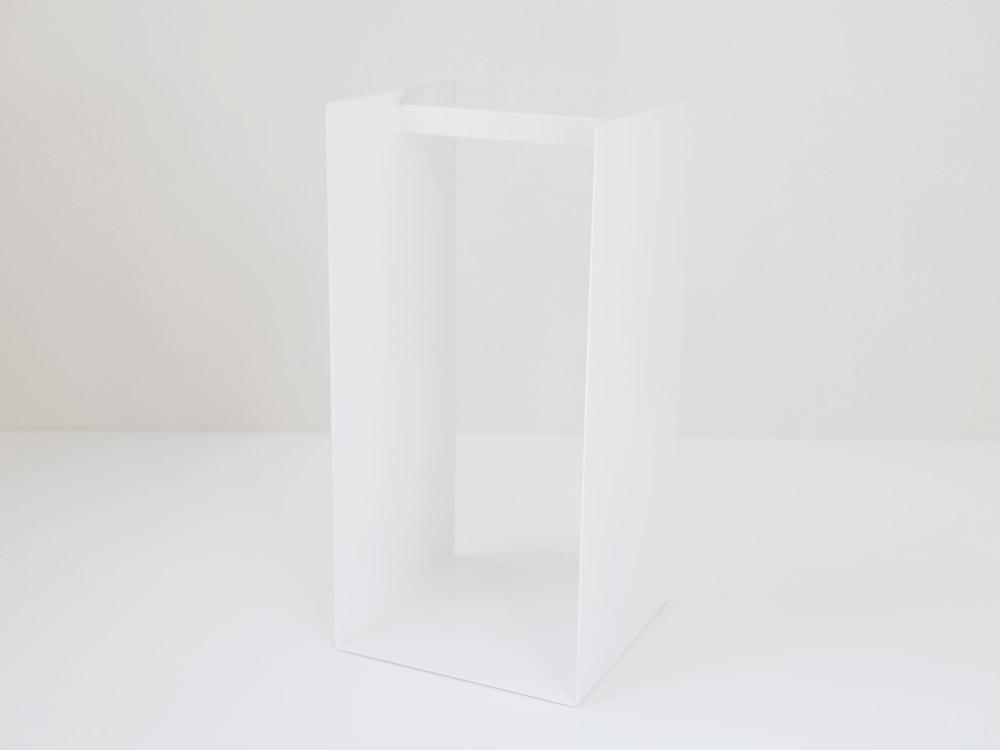 【tower】ハンガー収納ラック ホワイト