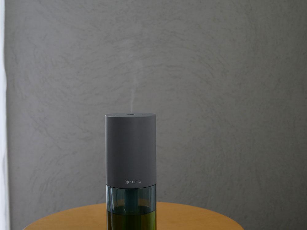 【@aroma】piezo diffuser ソロ グレー