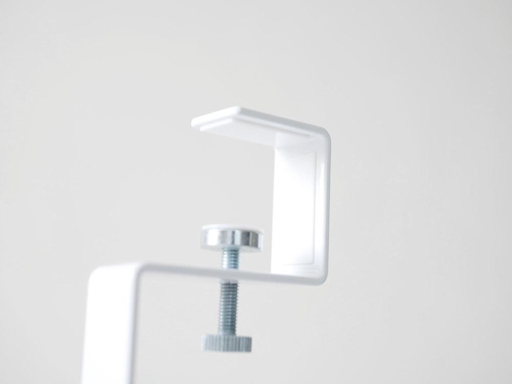 【tower】 洗面戸棚下ブラシホルダー ホワイト