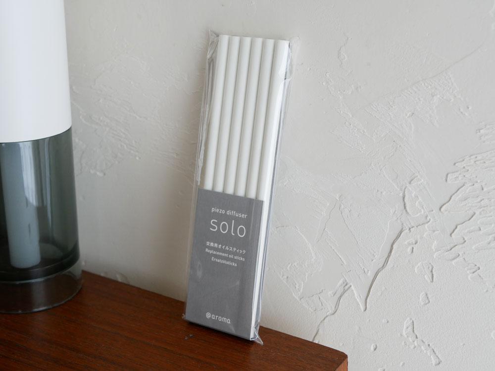【@aroma】piezo diffuser ソロ 交換用オイルスティック(6本)