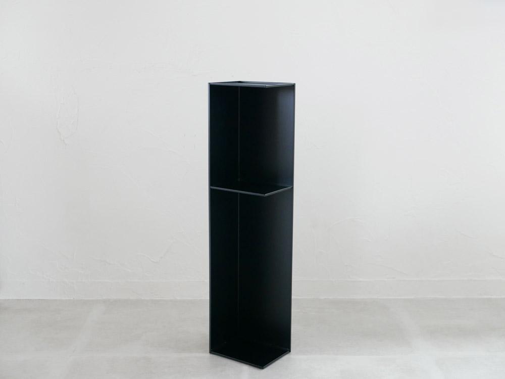 【tower】スリムトイレラック ブラック