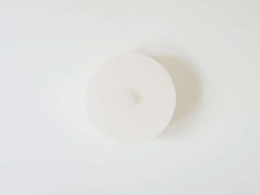 【MARNA】 POCO キッチンスポンジ ホワイト
