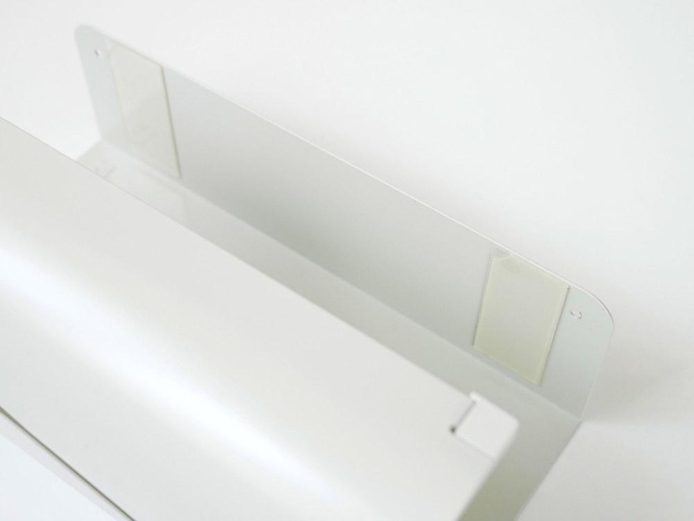 【AUX】UCHIFIT キッチンペーパーハンガー  ホワイト