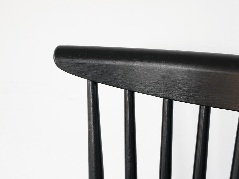 【adepeche】modage チェア ブラック【受注生産品・メーカー直送・代引き不可商品】