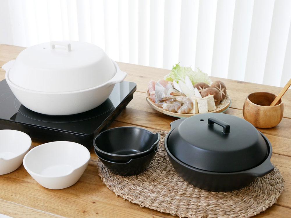 【KINTO】KAKOMI IH土鍋1.2L ブラック