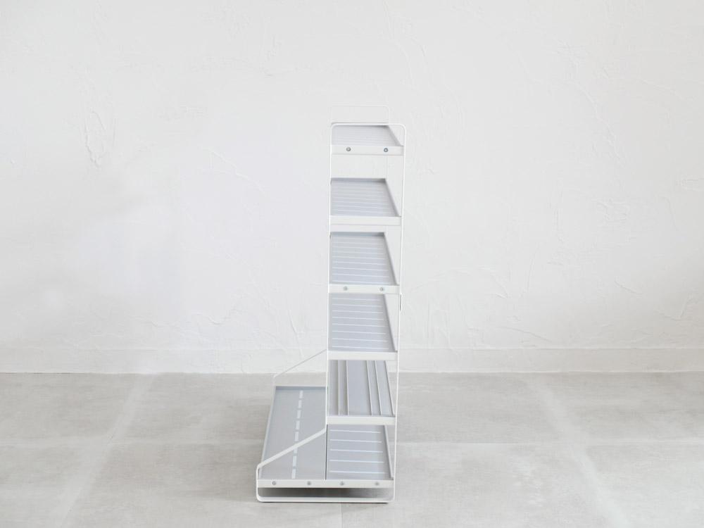 【tower】ミニカー&レールトイラック  ホワイト