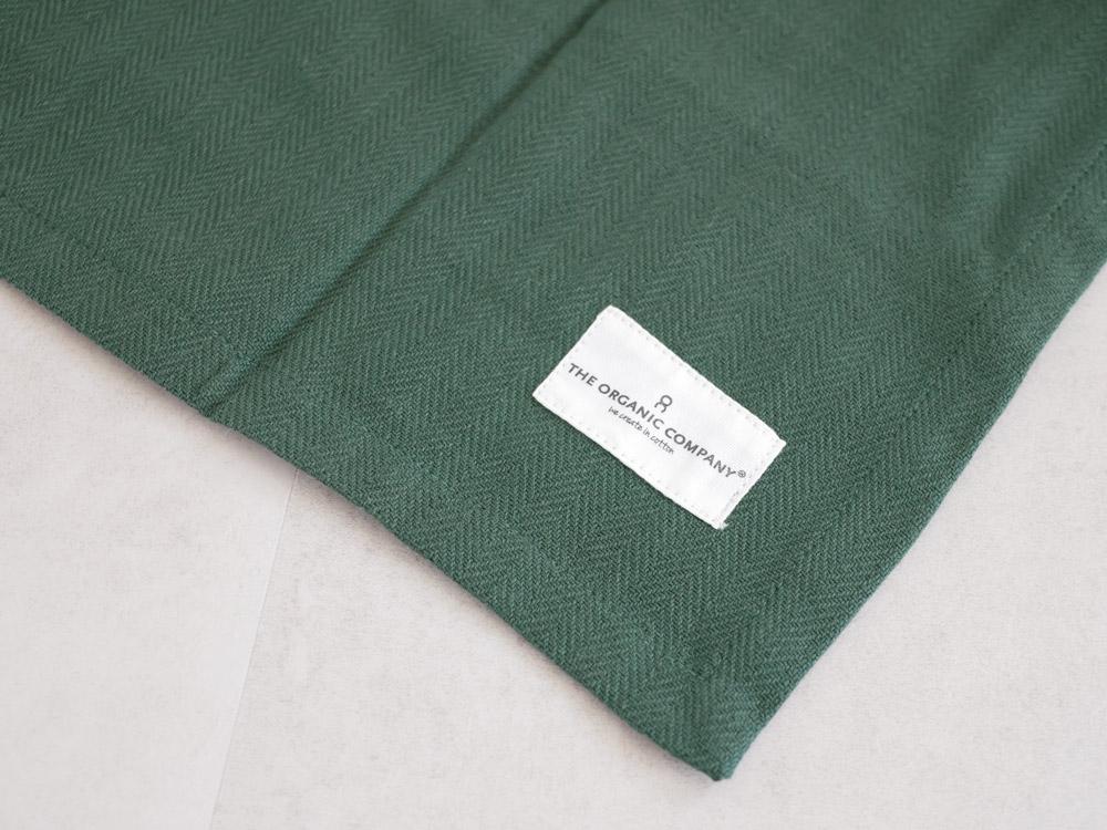 【The Organic Company】ALL PURPOSE TOWEL 53×86 ダークグリーン