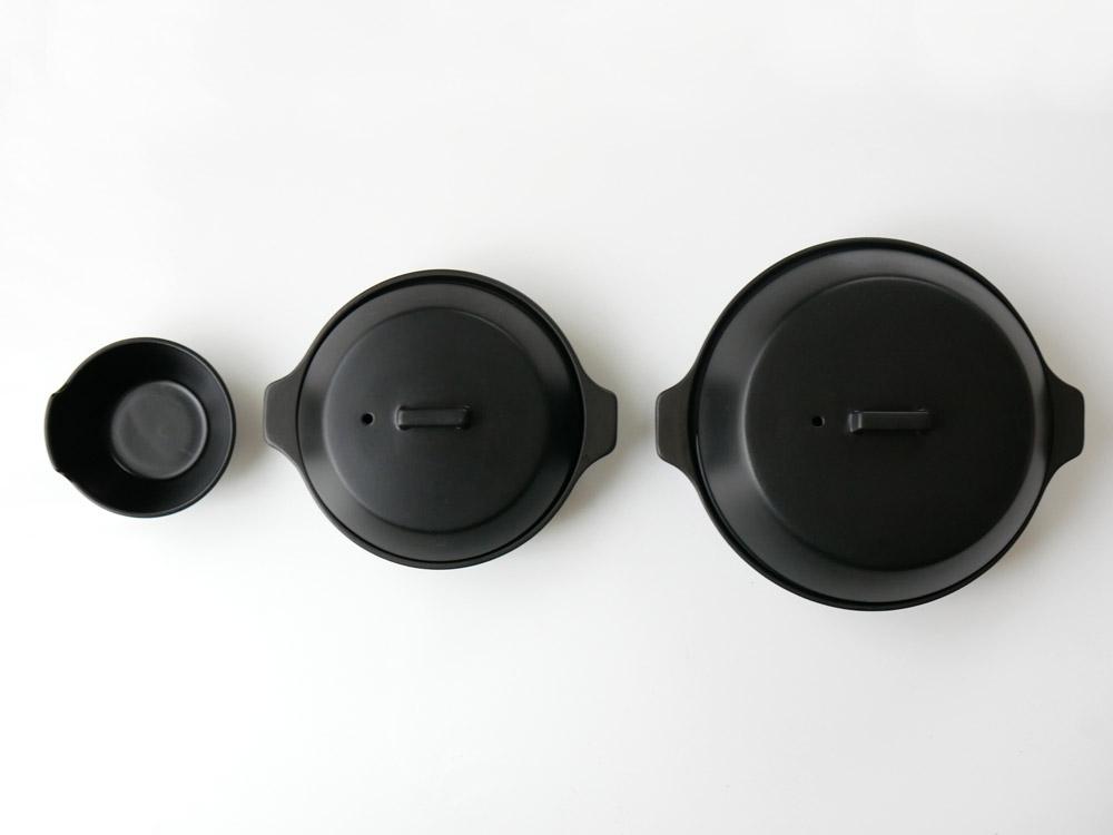 【KINTO】KAKOMI IH土鍋2.5L ブラック