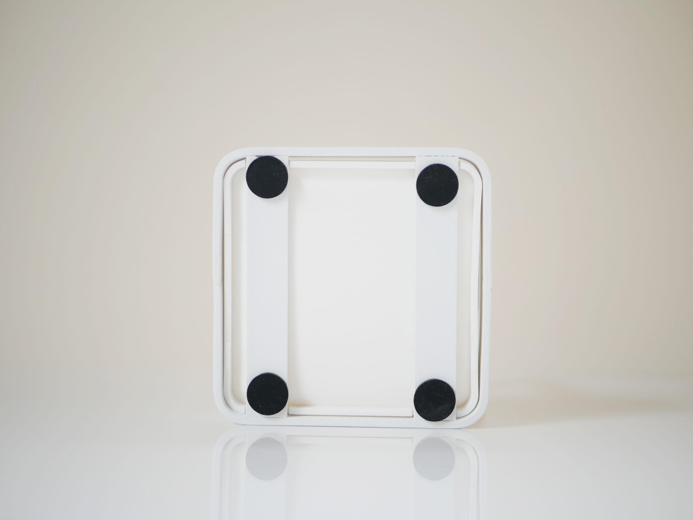 【tosca】お玉&鍋ふたスタンド ホワイト