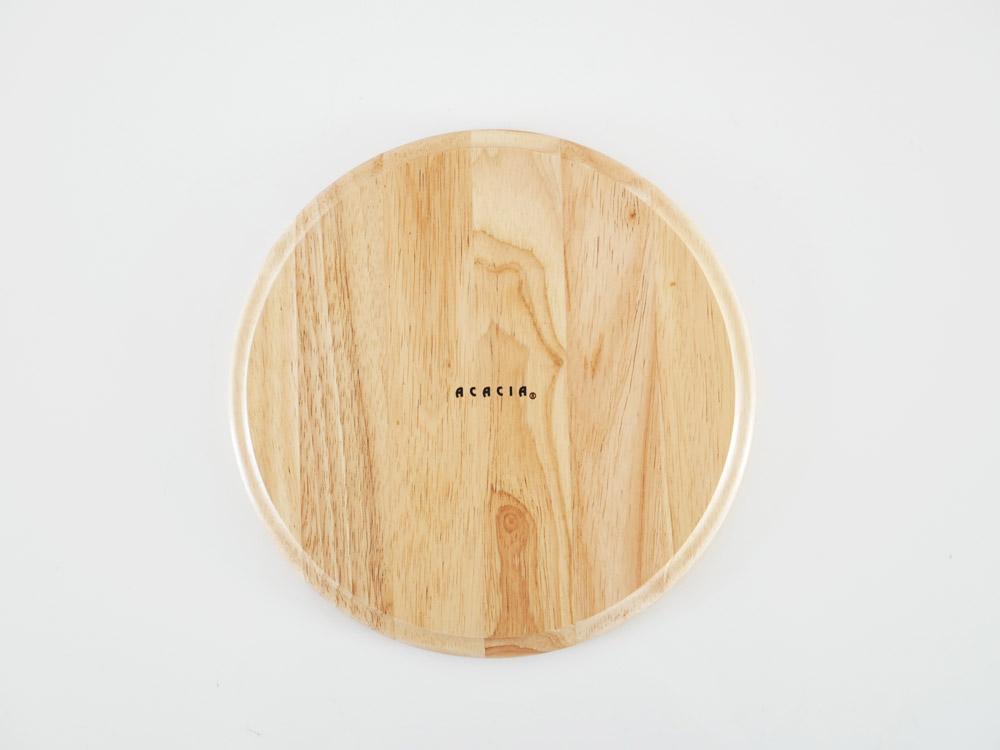 【ACACIA】カフェプレート ラウンド L/ナチュラル