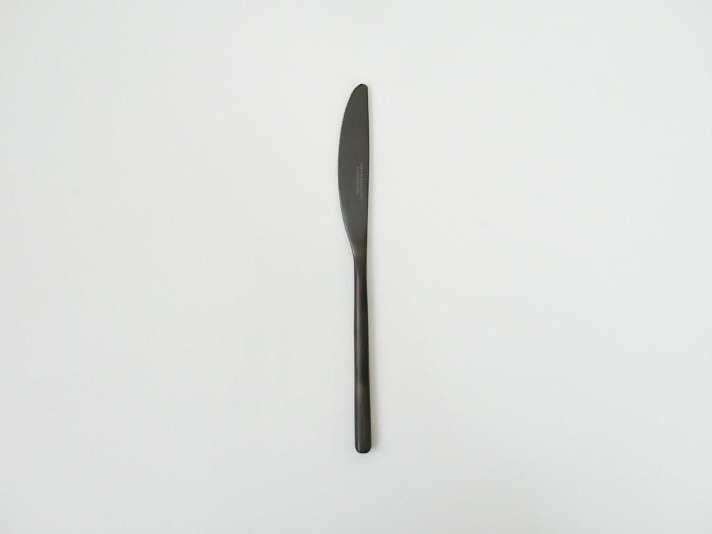 【DULTON】スベルトカトラリー ディナーナイフ ブラック