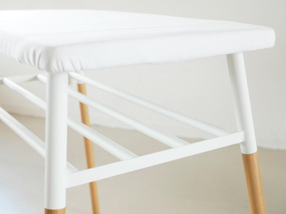 【tosca】出しておける スタンド式 棚付アイロン台 ホワイト