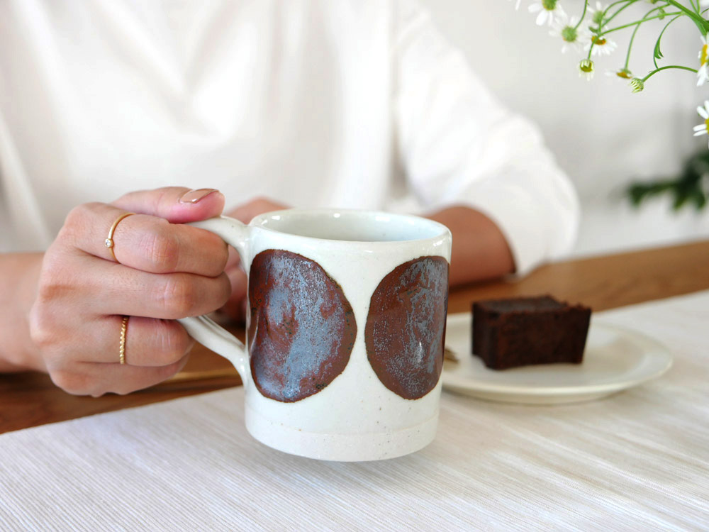 【adepeche】OTOHA mug KUROMAME 黒豆