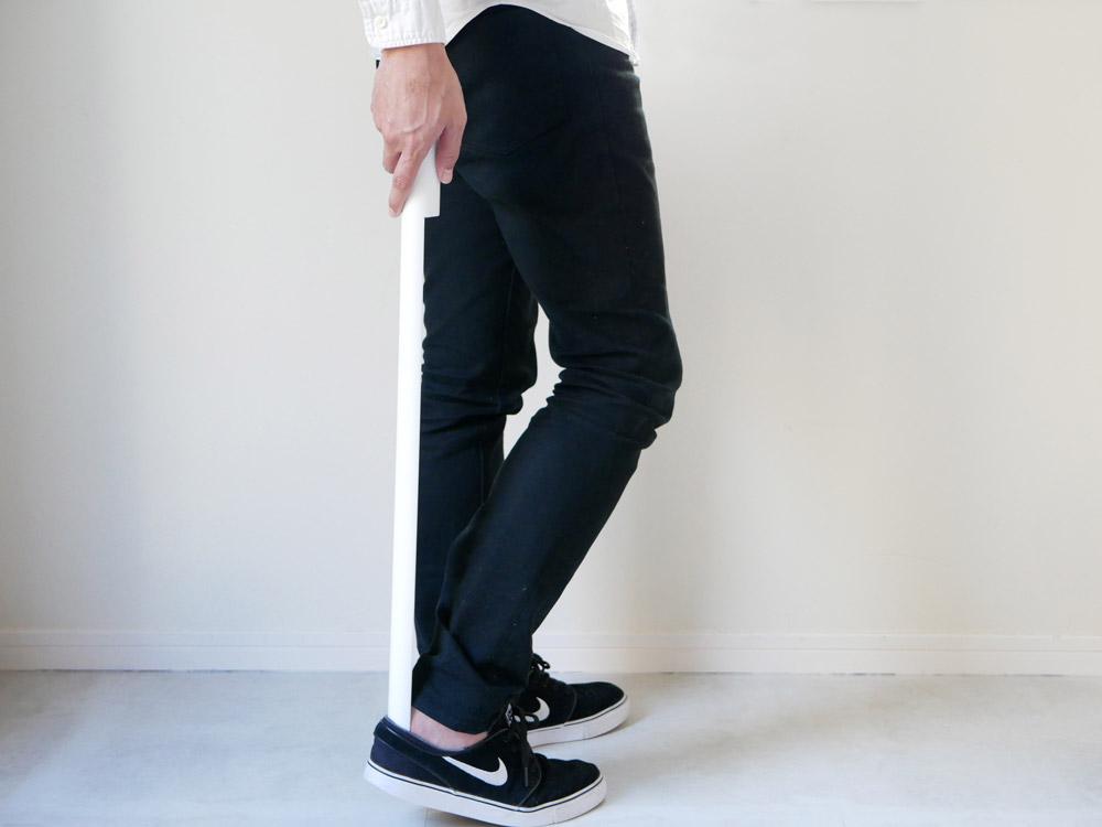 【noppo】 マグネット式 靴ベラ ホワイト