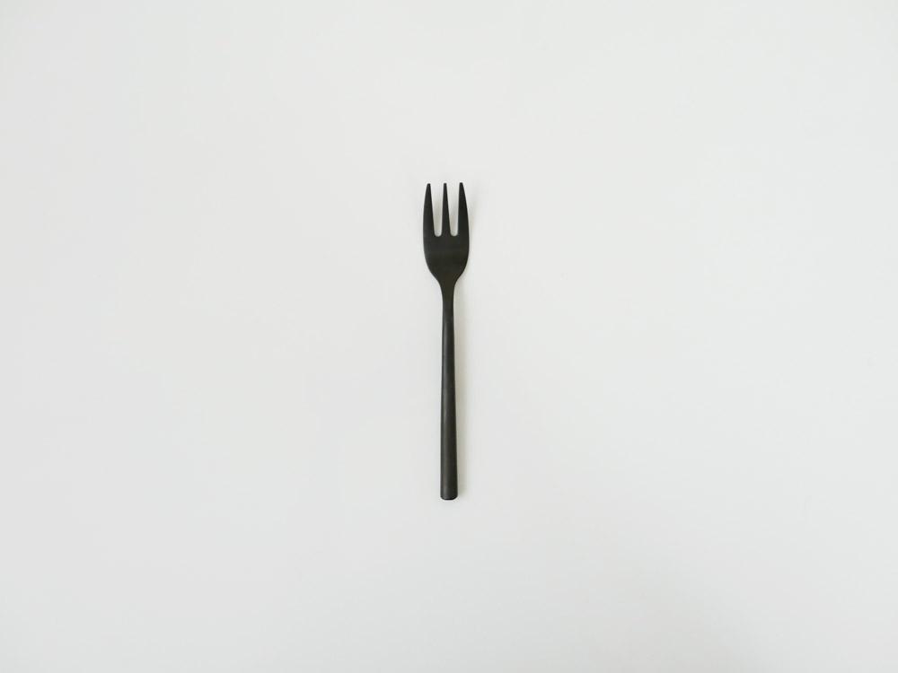 【DULTON】スベルトカトラリー デザートフォーク ブラック