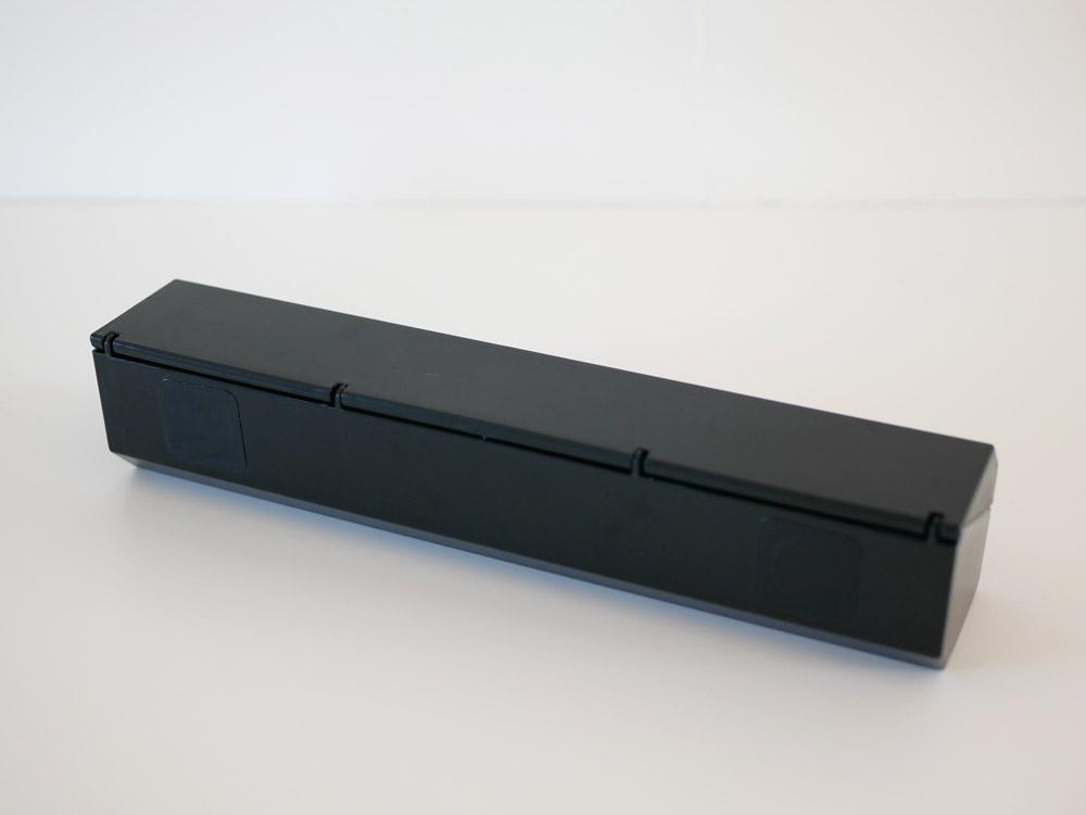 【ideaco】マグネット付きラップホルダー 22 ブラック