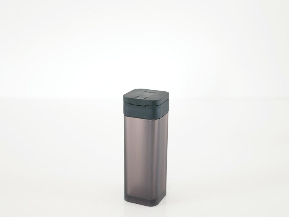 【tower】マグネットスパイスボトル ブラック