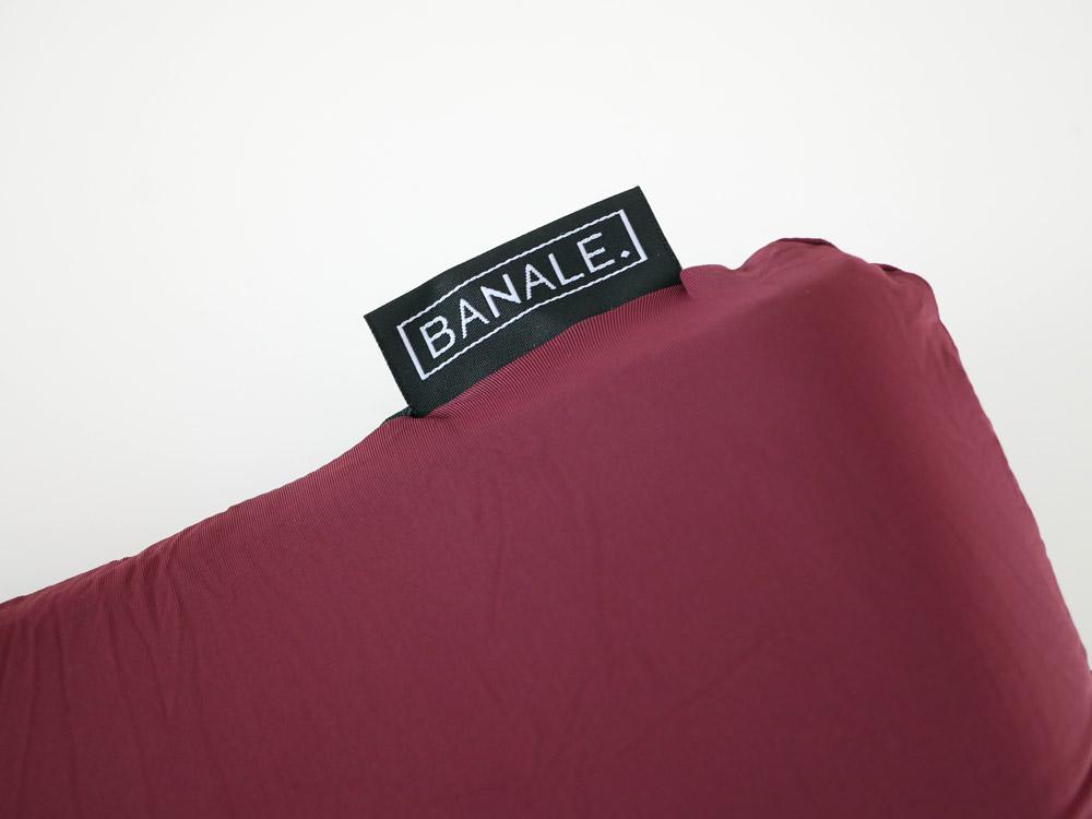 【BANALE】オムニピロー ワインレッド