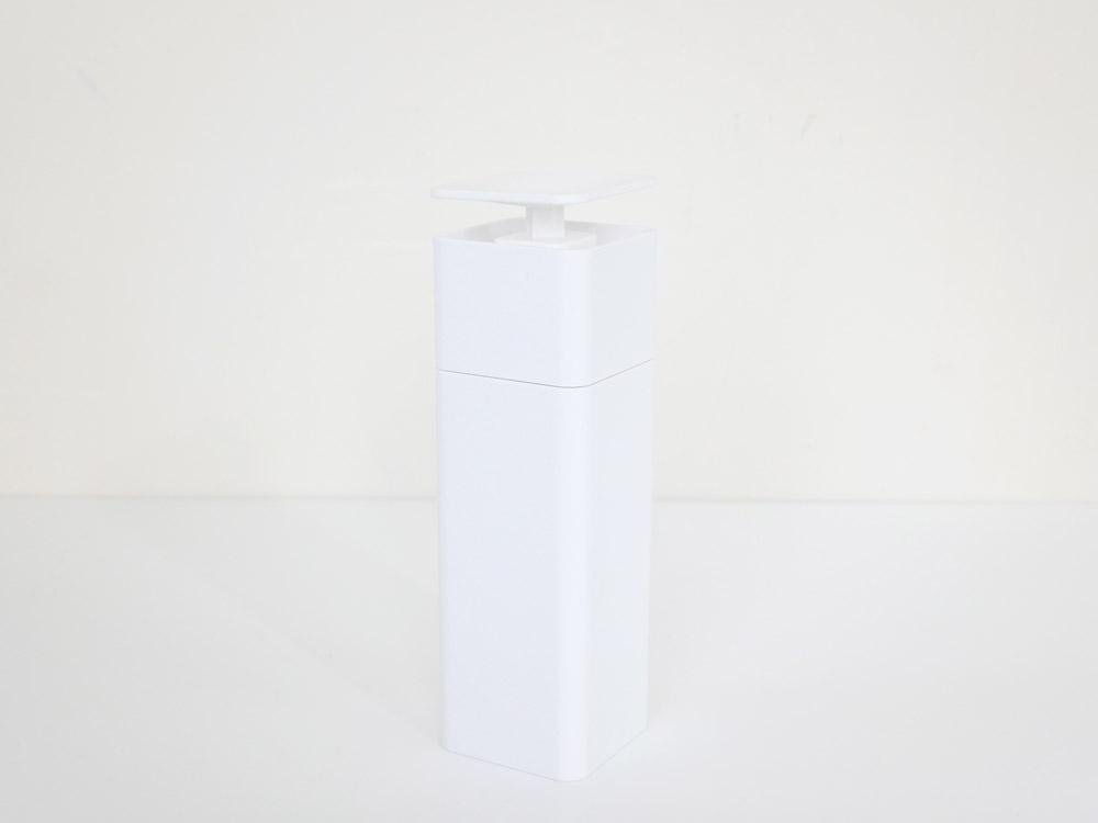 【tower】 片手で出せるディスペンサー ホワイト