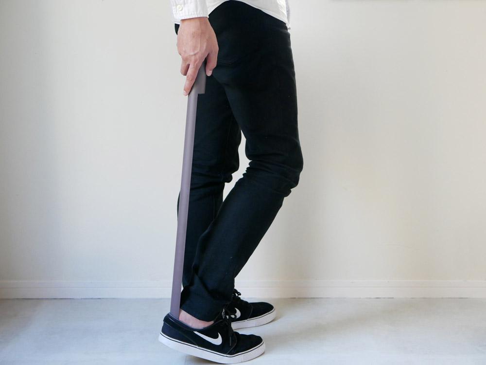 【noppo】 マグネット式 靴ベラ モーヴ