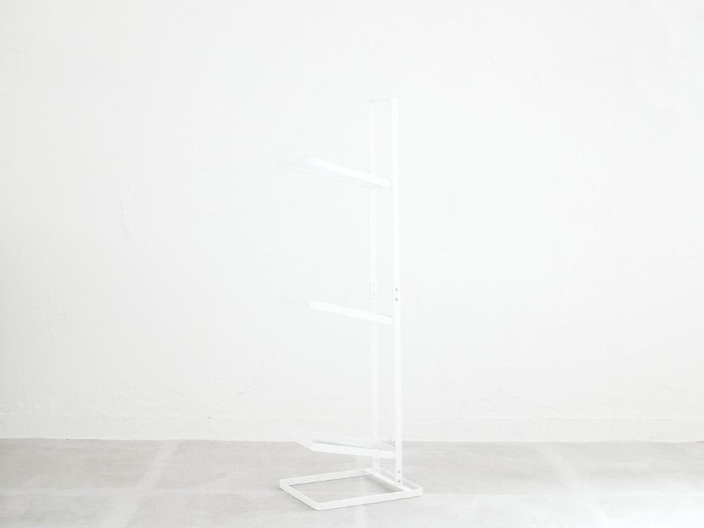 【tower】ボールスタンド 3段 ホワイト