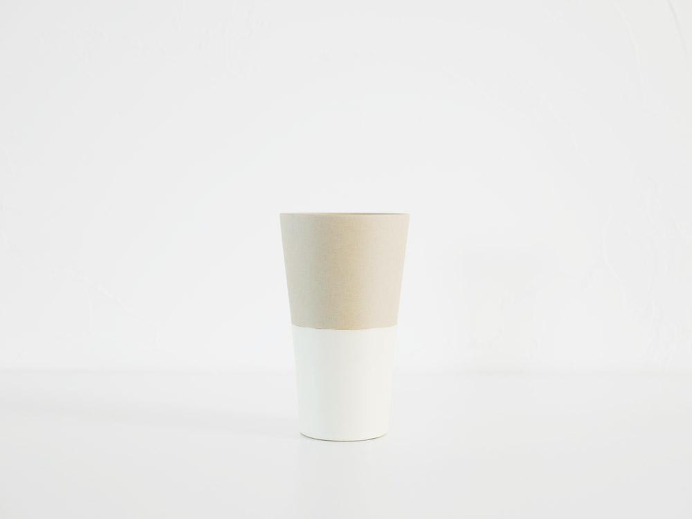【BRUNO】セラミック ビアタンブラー ホワイト