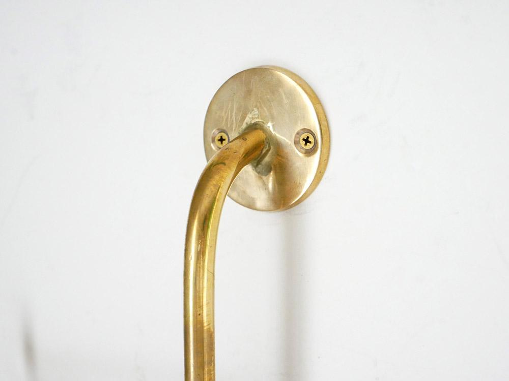 【Horn Please】 BRASS ウォールフック スイベル