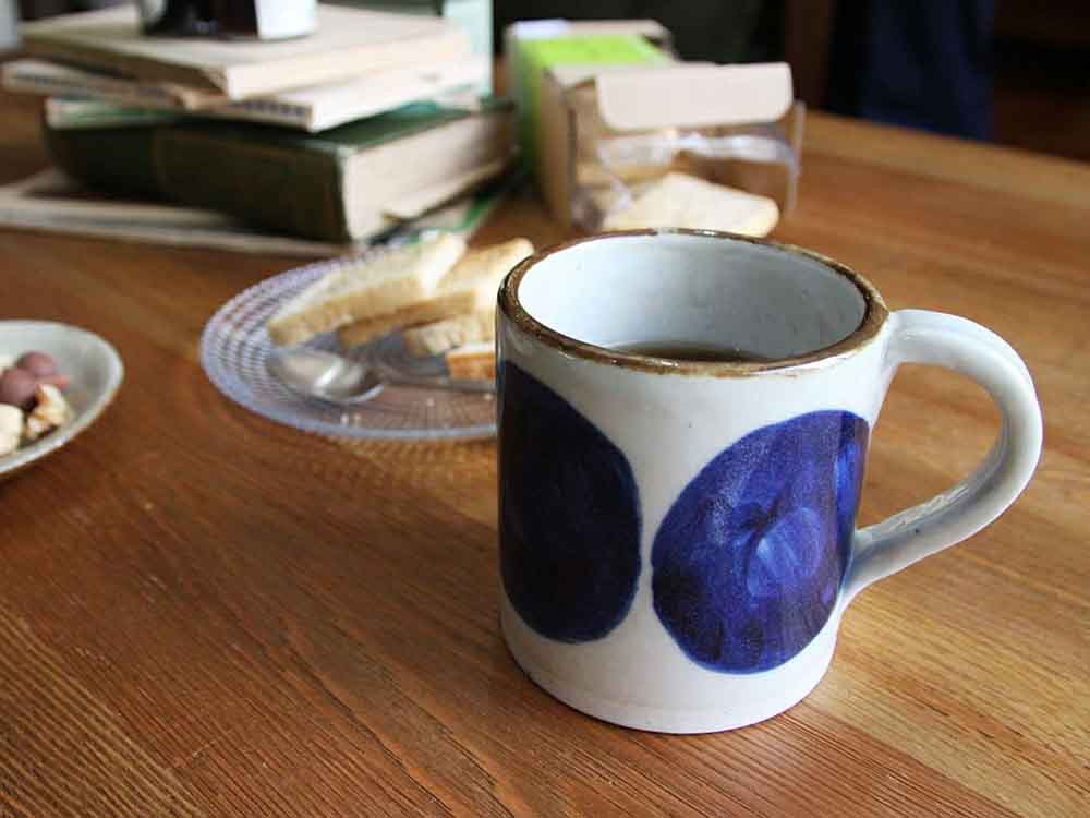 【adepeche】OTOHA mug NASU 茄子