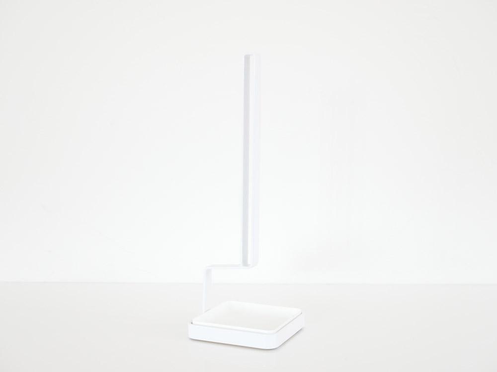 【tower】トレー付きマグボトルスタンド ホワイト