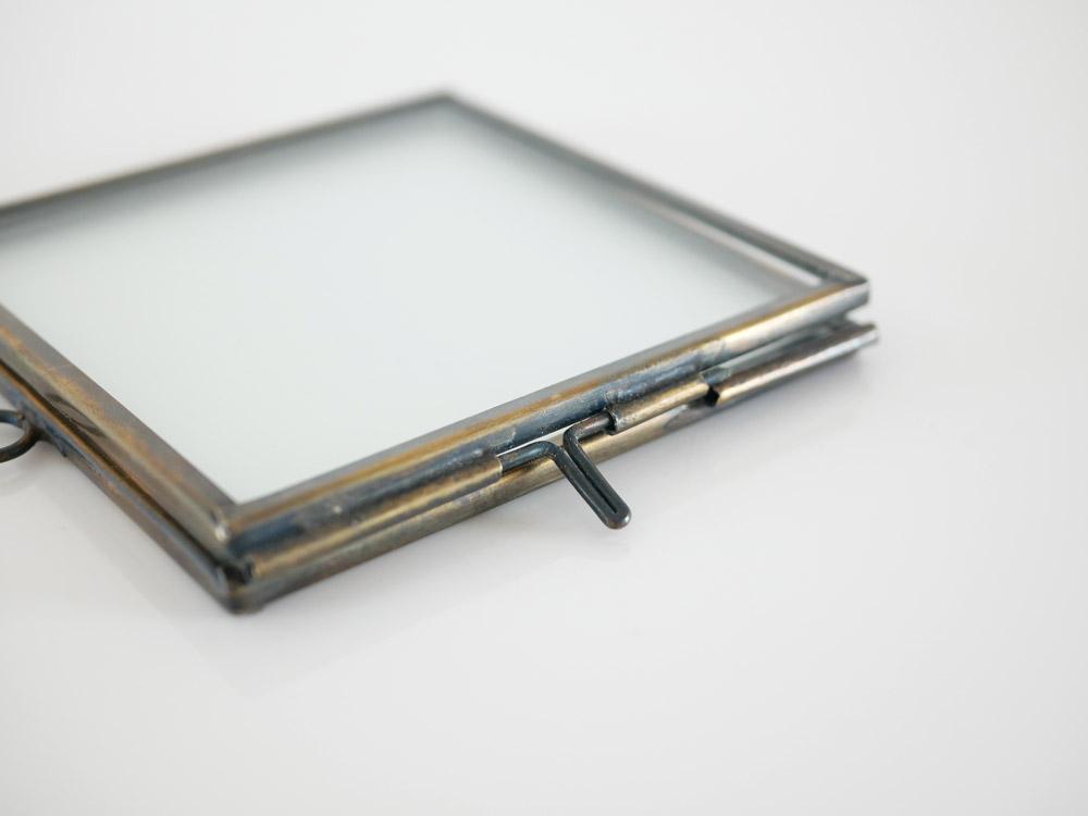 【Liam】真鍮ガラスフレーム BRICK(ブリック) ゴールド
