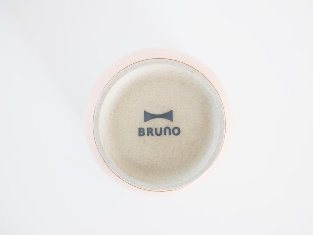 【BRUNO】セラミック ロックカップ ピンク