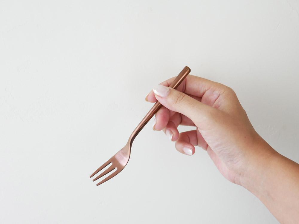 【DULTON】スベルトカトラリー デザートフォーク カッパー