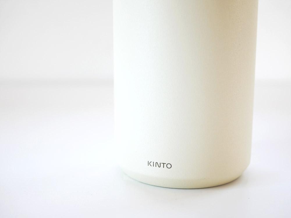 【KINTO】トラベルタンブラー 500ml ホワイト