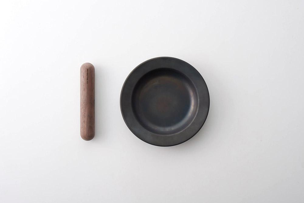 【 FUJITA KINZOKU】 FRYING PAN JIU S ハンドルセット(ウォルナット)