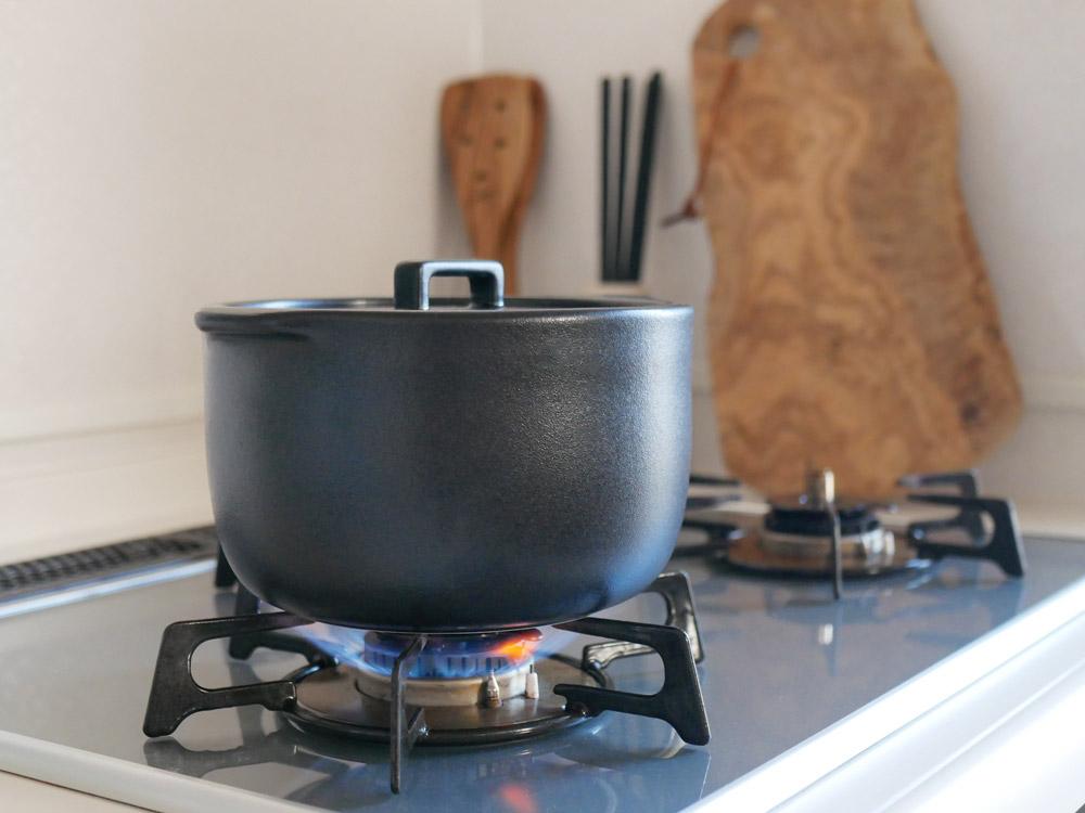 【KINTO】KAKOMI 炊飯土鍋 2合 ブラック