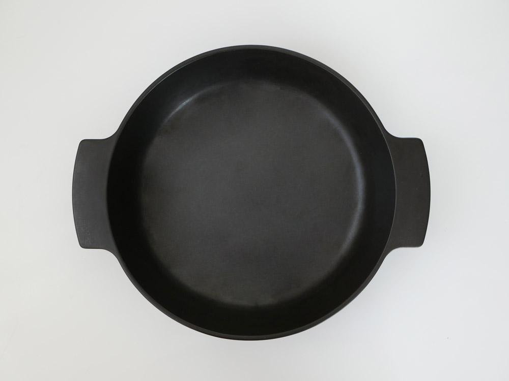 【ARITA JIKI】ポットディッシュ L ブラック【受注生産品】