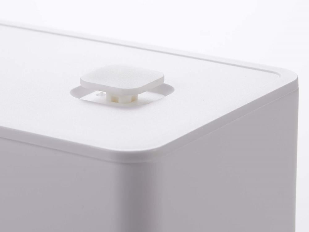 【tower】バルブ付き密封バターケース ホワイト
