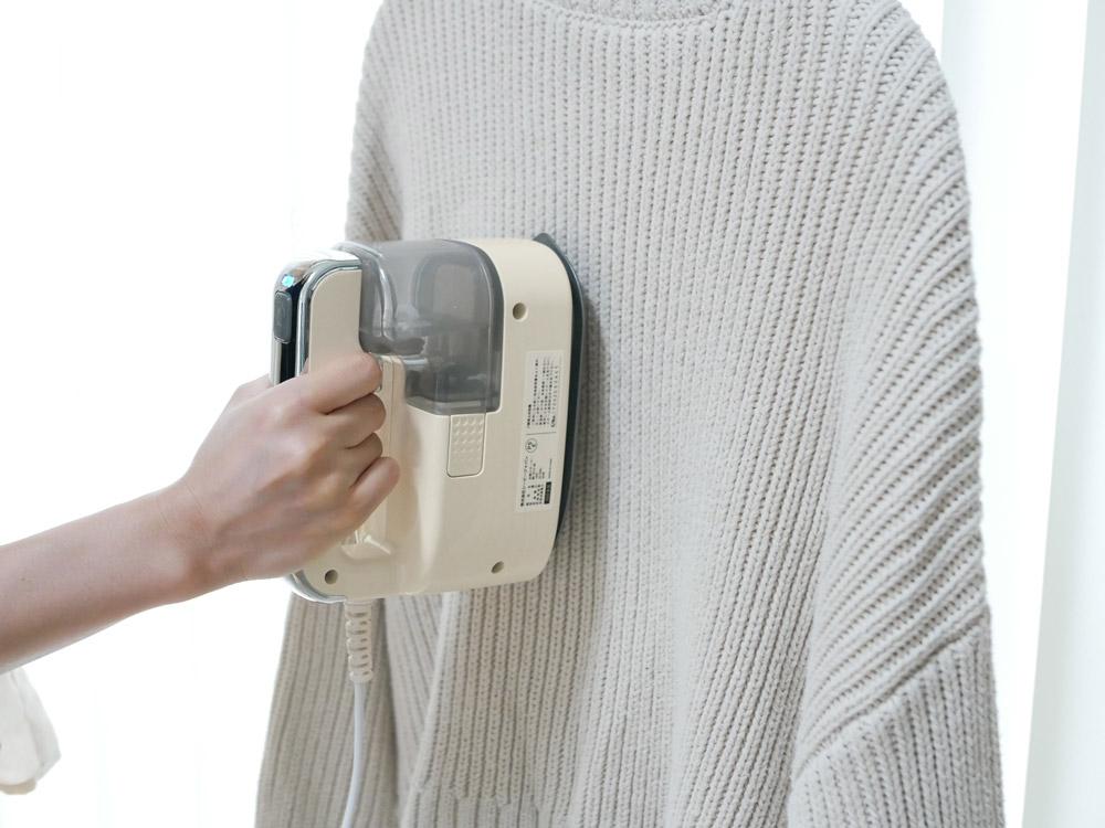 【CB JAPAN】 Mlte 衣類スチーマー アイボリー