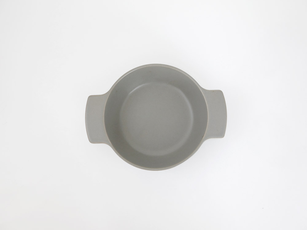 【ARITA JIKI】ポットディッシュ S グレー【受注生産品】