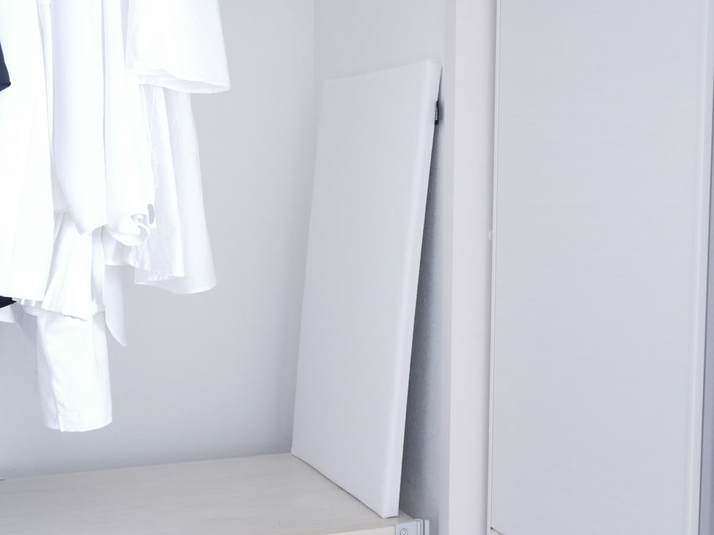 【tower】平型アイロン台 ホワイト