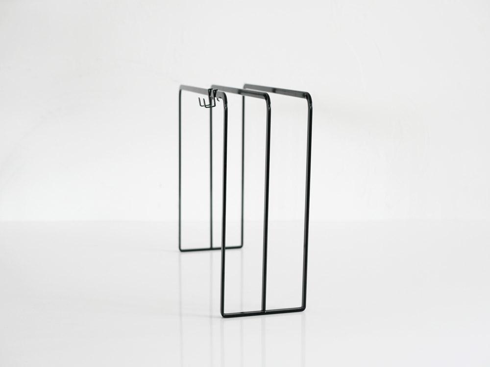 【tower】 布巾ハンガー/ブラック