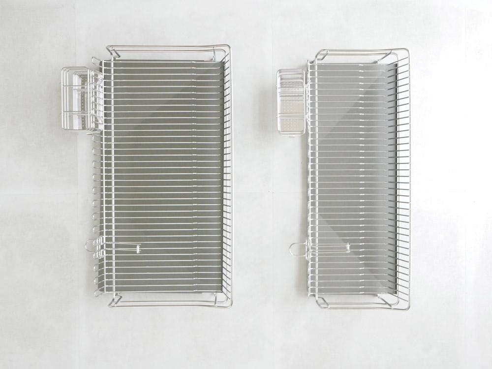 【AUX】UCHIFIT ステンレス水切りカゴ 22cm