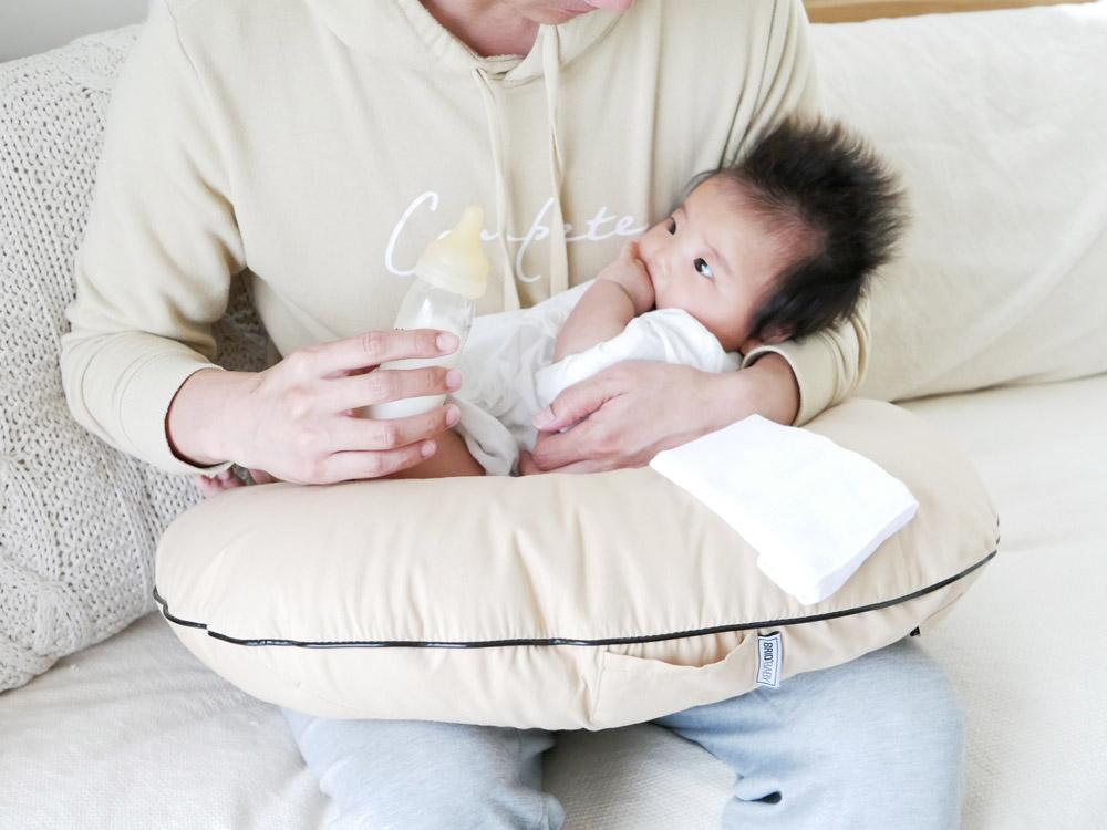 【BRID BABY】授乳クッション ベージュ
