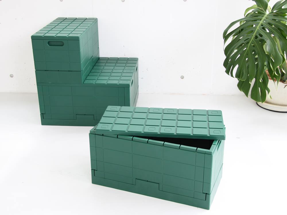 【Grid container】 グリッドコンテナー グリーン