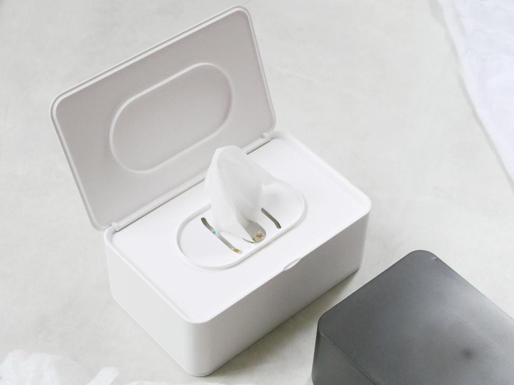 【smart】おしり拭きケース ホワイト
