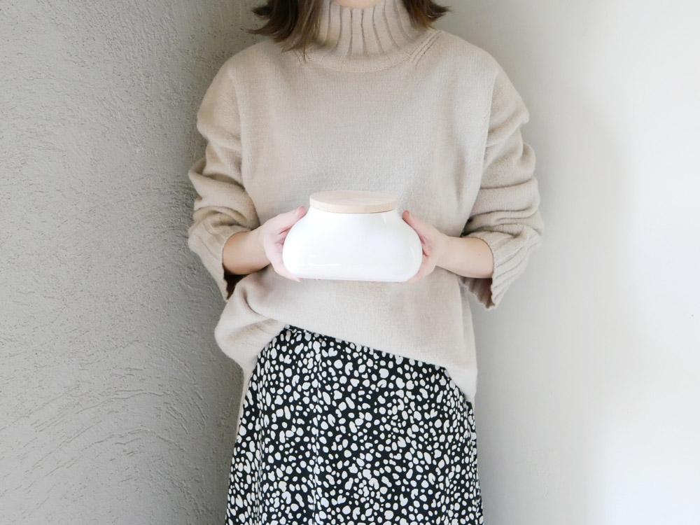 【mochi】ウェットシートケース ホワイト